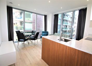 Thumbnail 1 bed flat to rent in Piazza Walk, London