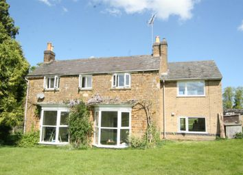 Thumbnail 4 bed farmhouse to rent in Main Street, Loddington, Leicester