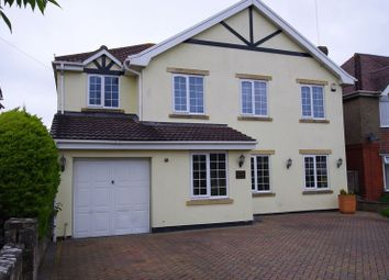 Thumbnail 5 bed detached house for sale in Marlborough Road, Swindon