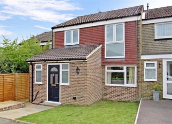 Thumbnail 3 bed terraced house for sale in Thelton Avenue, Broadbridge Heath, West Sussex