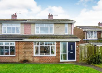 Thumbnail 2 bed semi-detached house for sale in Short Grove, Murton Seaham
