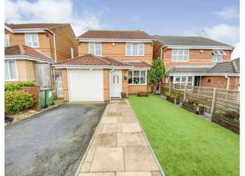 Thumbnail 3 bed detached house for sale in Attenborough Close, Leicester