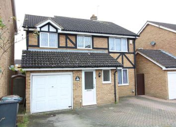 Thumbnail 4 bed detached house for sale in Swan Mead, Luton