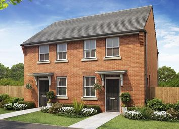 "Thumbnail 2 bed semi-detached house for sale in ""Wilford, Darwin View"" at Stonnyland Drive, Lichfield"
