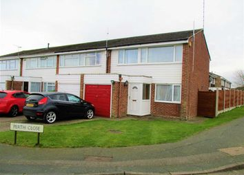 Thumbnail 3 bed end terrace house for sale in Perth Close, Colchester