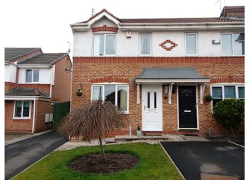Thumbnail 2 bed end terrace house for sale in Canisp Close, Oldham