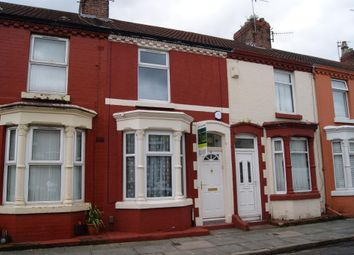 Thumbnail 2 bed terraced house to rent in Strathcona Road, Wavertree, Liverpool