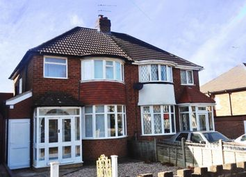Thumbnail 3 bed semi-detached house to rent in Watwood Road, Shirley, Solihull, West Midlands