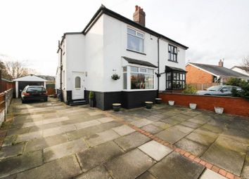 Thumbnail 3 bed semi-detached house for sale in Manor Road, Shevington, Wigan