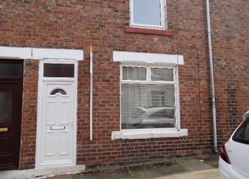 Thumbnail 2 bed terraced house to rent in Thomas Street, Shildon, Co. Durham