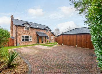 Chilbolton, Stockbridge, Hampshire SO20. 4 bed detached house for sale