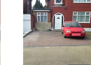 Thumbnail 1 bed flat to rent in Chapman Crescent, Harrow, Greater London
