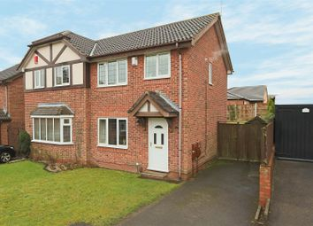 Thumbnail 3 bed semi-detached house for sale in Dylan Thomas Road, Bestwood Park, Nottingham