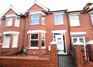 Thumbnail 3 bed terraced house for sale in St. Pauls Avenue, Barry