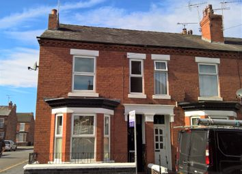 Thumbnail 3 bed end terrace house to rent in Carlisle Street, Crewe