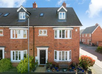 Thumbnail 4 bed end terrace house for sale in Emberson Croft, Chelmsford, Essex