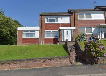 Thumbnail 3 bed end terrace house for sale in Glenbrittle Drive, Paisley