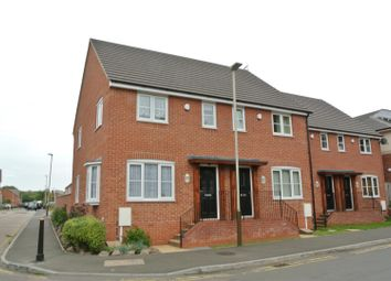 Thumbnail 2 bedroom town house for sale in Hall Lane, Leicester
