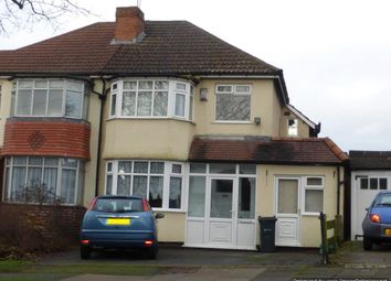 Thumbnail 4 bed semi-detached house to rent in Baldwins Lane, Hall Green, Birmingham