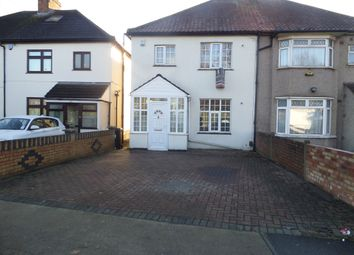 Thumbnail 3 bed semi-detached house for sale in Cranford Lane, Heston, Hounslow