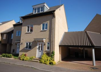 Thumbnail 4 bedroom end terrace house to rent in Spindle Drive, Thetford