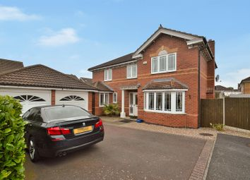 Thumbnail 4 bedroom detached house for sale in Rochester Close, Long Eaton, Nottingham