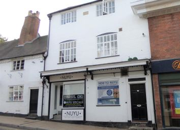 Thumbnail 1 bed flat to rent in Tamworth Street, Lichfield