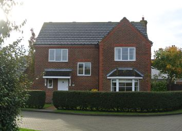 Thumbnail 4 bedroom detached house to rent in Hail Weston, St. Neots