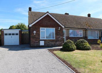 Thumbnail 2 bed semi-detached bungalow for sale in Harwich Road, Little Oakley, Harwich