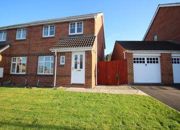 Thumbnail 3 bed semi-detached house for sale in Boulton Close, Westbury