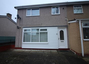Thumbnail 3 bed end terrace house to rent in St. Aidans Walk, Newton Aycliffe