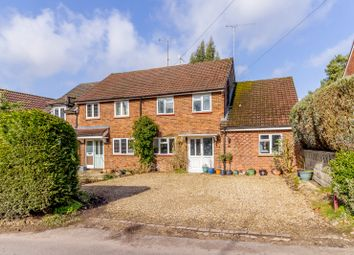 Thumbnail 4 bed semi-detached house for sale in Burnt Hill Road, Lower Bourne, Farnham