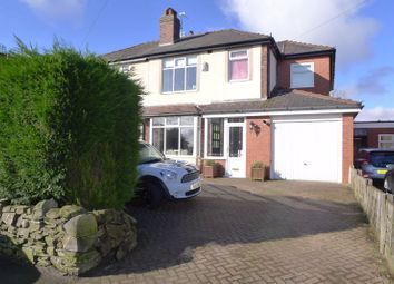 Thumbnail 3 bed semi-detached house to rent in Chapeltown Road, Bromley Cross, Bolton