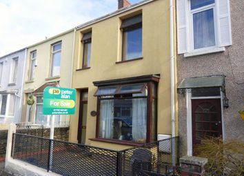 Thumbnail 4 bed terraced house for sale in St. Helens Avenue, Swansea