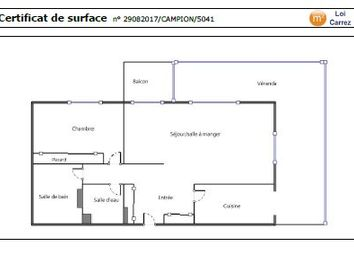 Thumbnail 1 bed apartment for sale in Vallauris, 06220, France