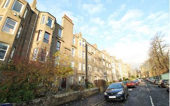 Thumbnail 2 bed flat to rent in Baxter Park Terace, Dundee