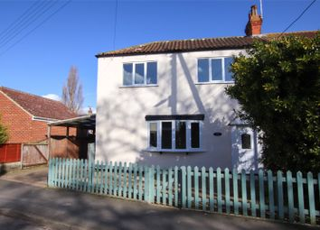 3 bed semi-detached house for sale in North End, Goxhill, North Lincolnshire DN19
