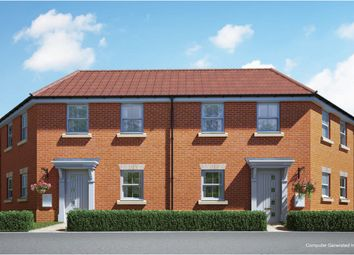 Thumbnail 2 bed semi-detached house for sale in London Road, Attleborough, Norfolk