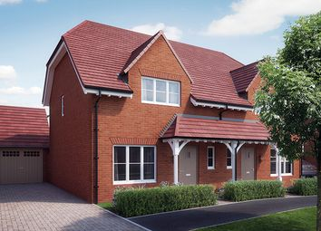 "Thumbnail 3 bedroom property for sale in ""The Hartley"" at William Morris Way, Tadpole Garden Village, Swindon"