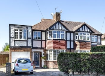 Thumbnail 4 bed semi-detached house for sale in Ancaster Crescent, New Malden