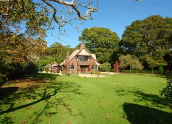 Thumbnail 4 bed detached house for sale in The Avenue, Bucklebury, Reading, Berkshire