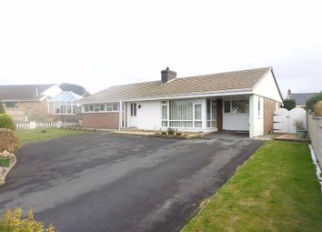 Thumbnail 3 bed detached bungalow for sale in Grove Park, Cardigan, Ceredigion