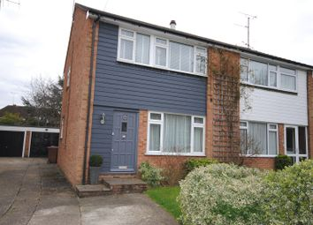 Thumbnail 3 bedroom semi-detached house for sale in St. Marys Close, Great Baddow, Chelmsford, Essex