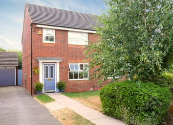 Thumbnail 3 bed semi-detached house for sale in Corydalis Close, Loughborough