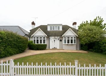 Thumbnail 4 bed bungalow for sale in Church Road, Harold Wood, Romford