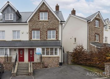 Thumbnail 4 bed semi-detached house for sale in Charles Road, Kingskerswell, Newton Abbot
