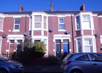 Thumbnail 3 bed flat for sale in Warton Terrace, Heaton, Newcastle Upon Tyne