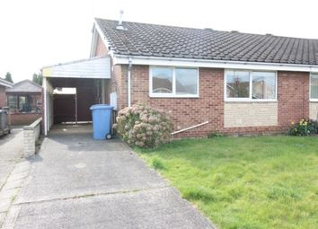 Thumbnail 2 bed semi-detached bungalow for sale in Stubbing Court, Worksop