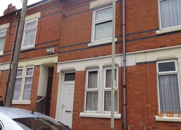 Thumbnail 3 bed terraced house to rent in Ashbourne St, Highfields, Leicester