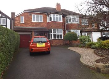 Thumbnail 4 bed semi-detached house for sale in Reservoir Road, Olton, Solihull
